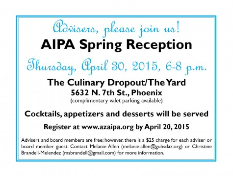 2015 Adviser Spring Reception