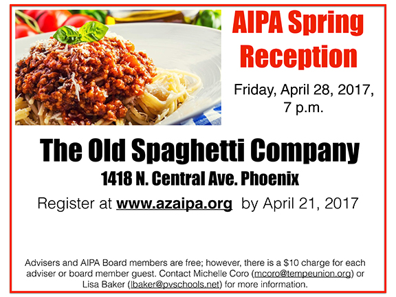 AIPA Spring Advisers Reception