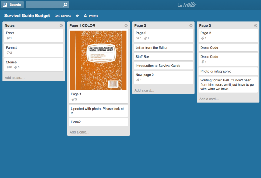 Use Trello to start the year organized
