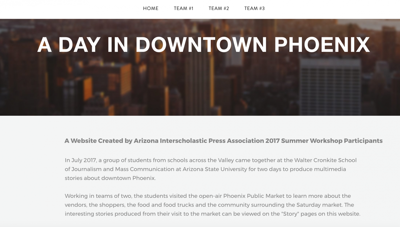 AIPA summer workshop