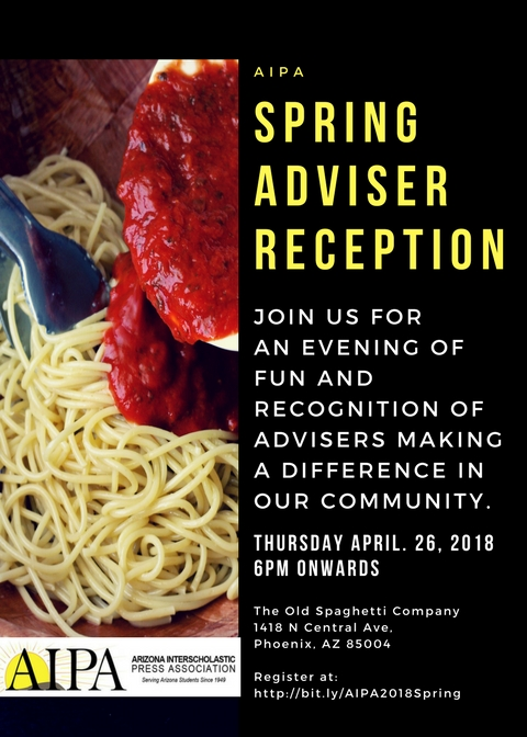 Spring Adviser Reception Postponed
